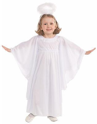 Süße Engel Kleinkind Kostüm Weiß Schutzengel Abendkleid Kostüm mit - Halo Kleinkind Kostüm