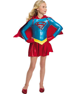 hen Supergirl Kinder Superheld Halloween Kostüm (Halloween-kostüme Superhelden-mädchen)