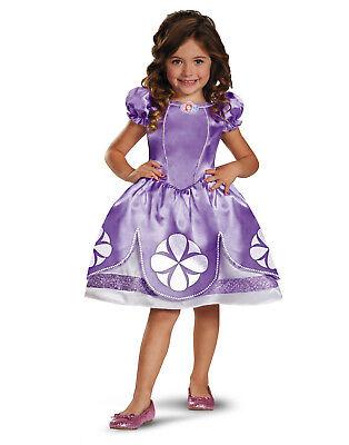 Sofia die Erste Disney Prinzessin Klassisch Kinder Kostüm - Kleinkind (2T)