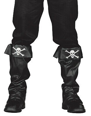 Jack Sparrow Pirate Boot Covers (Pirates Of The Caribbean Captain Jack Sparrow Pirate Adult Boot Covers )