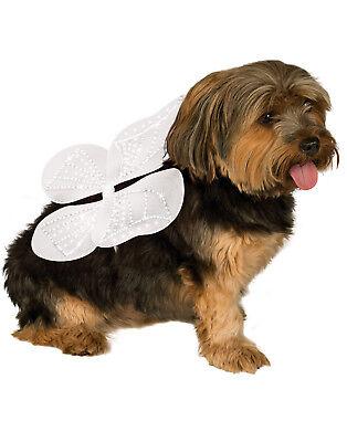 Weiß Engel Schmetterling Fairy Haustier Hund Katze Kostüm - Engel Hund Kostüme