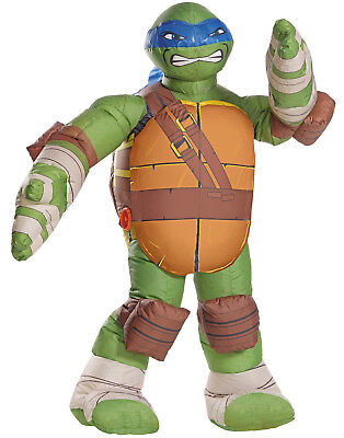 Turtles Kinder Leonardo Aufblasbar Kostüm (Teenage Mutant Ninja Turtles-kinder Kostüme)