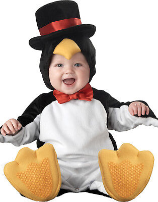 Cute Little Baby Penguin Infant Toddler Boys Halloween Costume