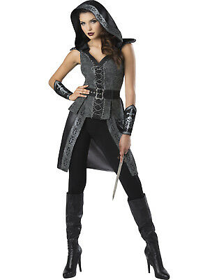 Dark Woods Huntress Womens Adult Warrior Halloween Costume