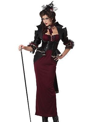 Sexy Steampunk Victorian Classic Mid Century Womens Halloween Costumes M
