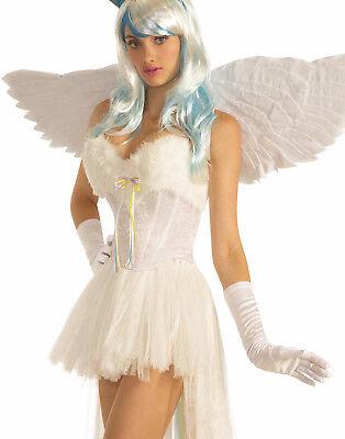 Unicorn Womens Adult Costume Mythical Creature White Corset - Unicorn Corset