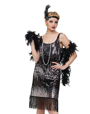 Jazz Baby 1920'S Flapper The Great Gatsby Womens Fancy Halloween Costume - Great Womens Costumes
