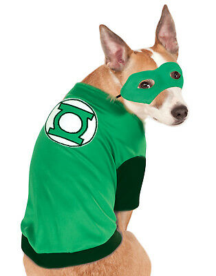 Dc Superheroes Green Lantern Pet Dog Cat Halloween Costume (Green Lantern Hund Kostüme)