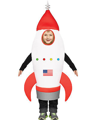 Rocket Ship One Size Tunic Toddler Halloween Play Costume-3T-4T - Halloween Costumes Rocket Ship