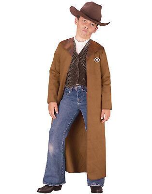 Alt Wilder Westen Sheriff Jungen Western Cowboy Polizist Halloween Kostüm