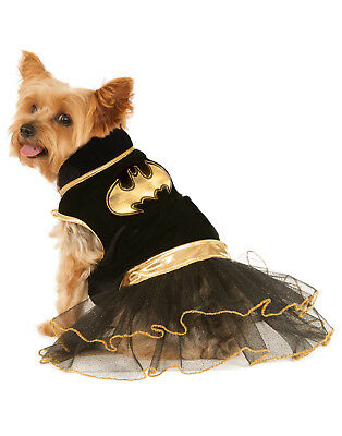 t Dog Cat Superhero Tutu Halloween Costume Dress (Batgirl Kostüm Hund)