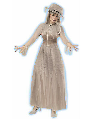Victorian Southern Bride Ghost Ghoul Womans Halloween Costume-Std