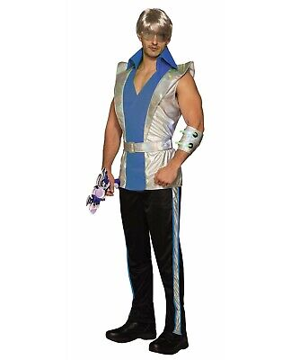 Cosmic Captain Mens Adult Future Outer Space Halloween Costume-Std