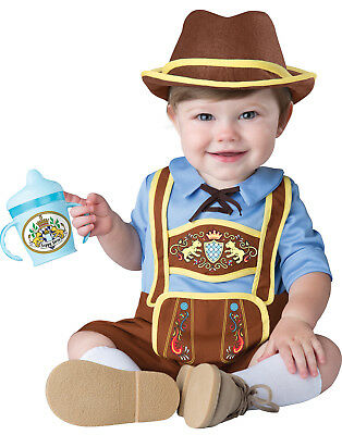 Baby Little Lederhosen Octoberfest German Bavarian Halloween Costume
