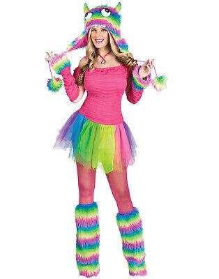 Sexy Zombie Unscharf Stiefel Hut Rockin Regenbogen Monster Halloween - Bögen Kostüm Stiefel