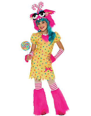 Sweet Tooth Rave Monster Fluffy Tutu Girls Fancy Halloween Party Costume - Rave Girls Halloween