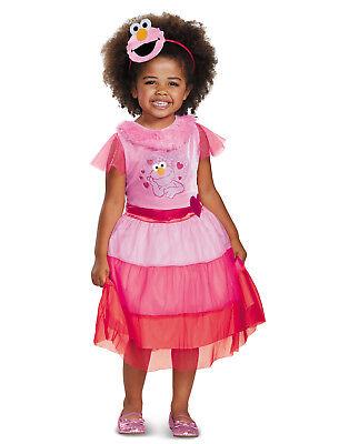 Sesamstraße Pink Elmo Kleinkind Mädchen Klassisch Kostüm