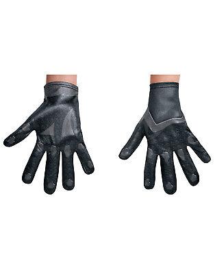 Power Rangers Film Schwarz Ranger Kind Junge Halloween Kostüm Handschuhe