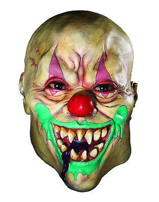 Creepy Adult Latex Demon Clown Mask (Clown Demon)