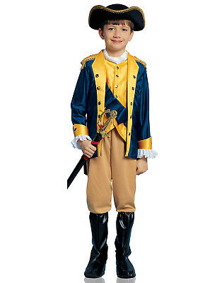 Patriot Soldier Revolutionary War Boys Child Halloween Costume