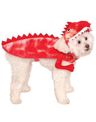 Raptor Red T-Rex Dinosaur Dino Pet Dog Cat Halloween - Dino Dog Kostüm