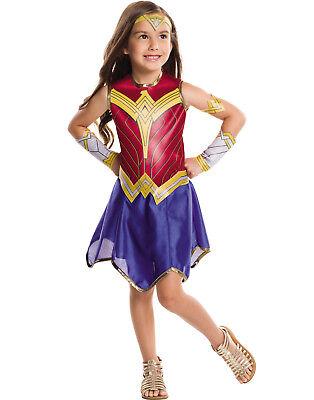 Wonder Woman Film Mädchen Dc Superheld Kinder Halloween - Wonder Woman Halloween Kostüm Kind