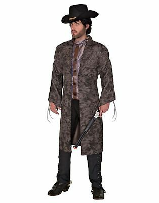 Vintage Western Renegade Outlaw Costume Adult Men's Cowboy Gambler STD