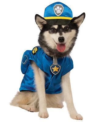 Cop Dog Costume (Paw Patrol Chase Traffic Cop Pup Dog Pet Halloween)
