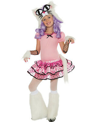 Mee Oow Rave Monster Fluffy Tutu Girls Fancy Halloween Party Costume - Rave Girls Halloween