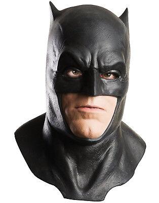 Adult Dawn Of Justice Batman V Superman Latex Cowl Full Over Head Foam - Batman Foam Mask