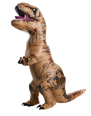 Inflatable T Rex Mens Adult Plus Size Jurassic World Costume