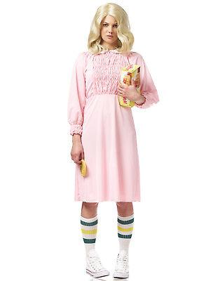 Strange Mädchen Damen Erwachsene Stanger Sachen Elf Halloween Kostüm ()