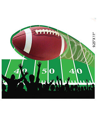 Football Party 4 Piece Wall Decorative Sports Theme Cutouts - Football Themed Party