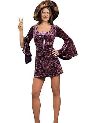 597mS Groovy Hippie Mädchen Damen Kleid