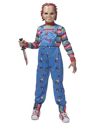 Chucky Jungen Kind Good Guys Killer Puppe Halloween Kostüm