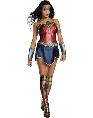 Womens Secret Wishes Wonder Woman Adult Dc Superhero Halloween Costume