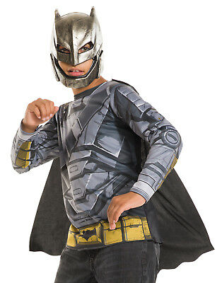Batman V Superman Dawn Of Justice Armored Boys Licensed Halloween Costume