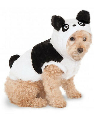 Pet Hoodie Black & White Panda Dog/ Cat Sweater With (Pet Panda Kostüm)
