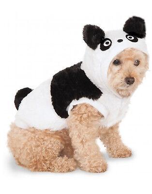 Pet Hoodie Black & White Panda Dog/ Cat Sweater With - Pet Panda Kostüm