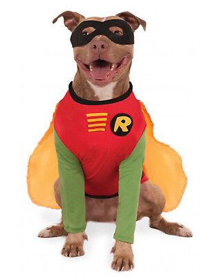 Pet Sidekick Costume Dc Robin The Boy Wonder Big Dog Costume - Boy Wonder Costume