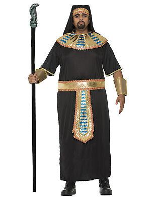 Ägyptischer Pharao König Tut Tunika Erwachsene Herren Halloween Costume-Xl