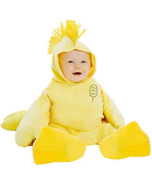 Woodstock Halloween Costume (Woodstock Boys Infant Charlie Brown Yellow Bird Halloween)
