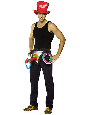 Get Waisted Adult Mens Humor Ring Toss Bachelorette Halloween Costume