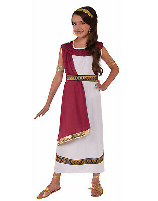 Children's Greek Goddess Halloween Costumes (Greek Goddess Girls Child Roman Egyptian Ruler Halloween)