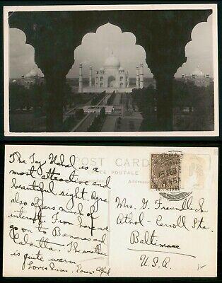 Mayfairstamps India 1959 Mosque Postcard wwo_64035