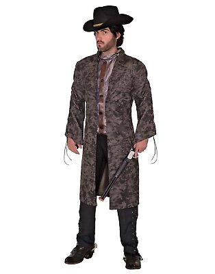 Renegade Outlaw Mens Adult Western Bandit Halloween Costume-Std](Halloween Bandit Costume)
