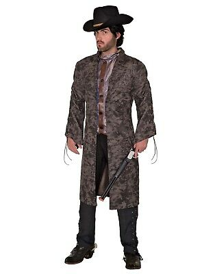 Renegade Outlaw Mens Adult Western Bandit Halloween Costume-Std - Western Outlaw Costume
