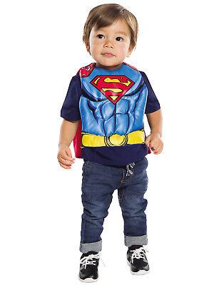 Dc Comics Superman Baby Kleinkind Junge Superheld Lätzchen Speichel Handtuch