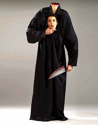 Adult Headless Man Scary Robe Mens Halloween Costume - Std (Scary Mens Costumes)