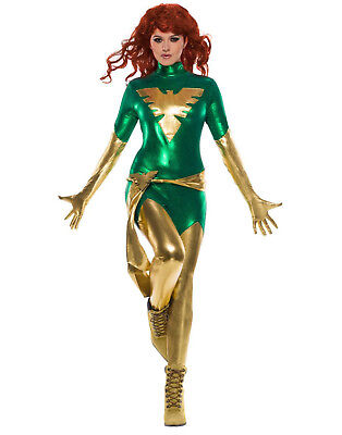 Phoenix Adult Womens X Men Dark Phoenix Superhero - X-men Womens Costumes